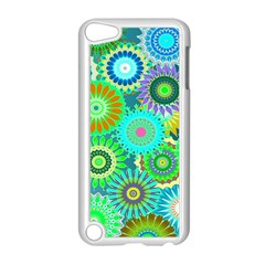 Funky Flowers A Apple iPod Touch 5 Case (White)