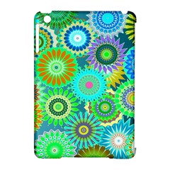 Funky Flowers A Apple iPad Mini Hardshell Case (Compatible with Smart Cover)