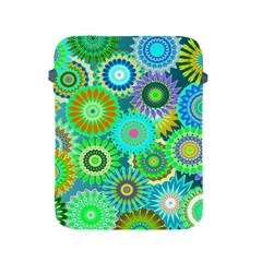 Funky Flowers A Apple iPad 2/3/4 Protective Soft Cases