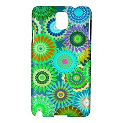 Funky Flowers A Samsung Galaxy Note 3 N9005 Hardshell Case
