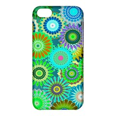 Funky Flowers A Apple iPhone 5C Hardshell Case