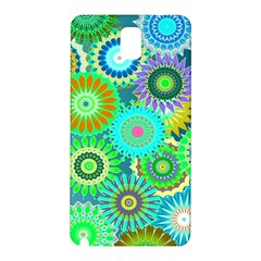 Funky Flowers A Samsung Galaxy Note 3 N9005 Hardshell Back Case