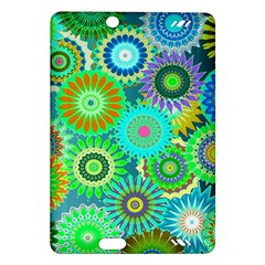 Funky Flowers A Amazon Kindle Fire HD (2013) Hardshell Case