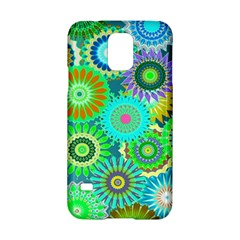 Funky Flowers A Samsung Galaxy S5 Hardshell Case