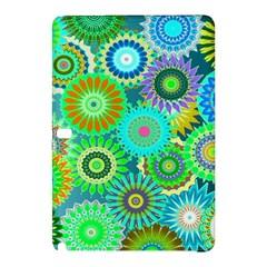 Funky Flowers A Samsung Galaxy Tab Pro 10.1 Hardshell Case