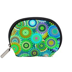 Funky Flowers A Accessory Pouches (Small)