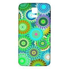 Funky Flowers A Samsung Galaxy S5 Back Case (White)