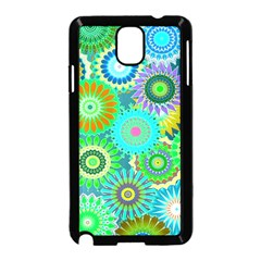 Funky Flowers A Samsung Galaxy Note 3 Neo Hardshell Case (Black)