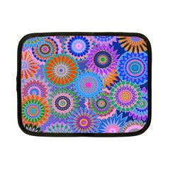 Funky Flowers B Netbook Case (Small)