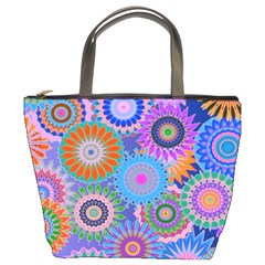 Funky Flowers B Bucket Bags