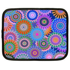 Funky Flowers B Netbook Case (XXL)