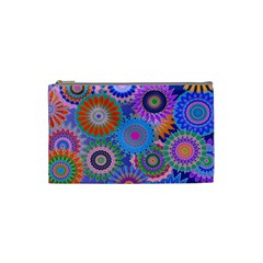 Funky Flowers B Cosmetic Bag (Small)