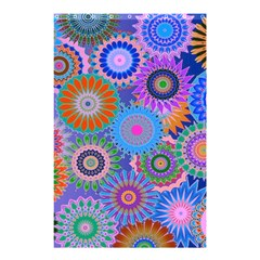 Funky Flowers B Shower Curtain 48  x 72  (Small)