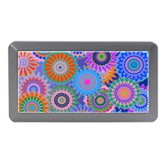 Funky Flowers B Memory Card Reader (Mini)