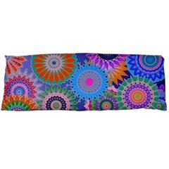 Funky Flowers B Body Pillow Case Dakimakura (Two Sides)