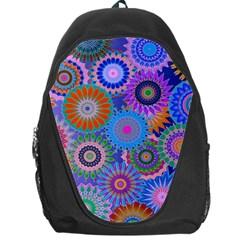 Funky Flowers B Backpack Bag