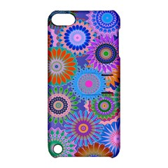 Funky Flowers B Apple iPod Touch 5 Hardshell Case with Stand