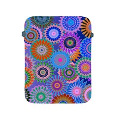 Funky Flowers B Apple iPad 2/3/4 Protective Soft Cases