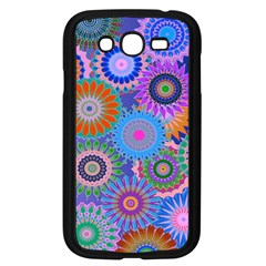 Funky Flowers B Samsung Galaxy Grand DUOS I9082 Case (Black)