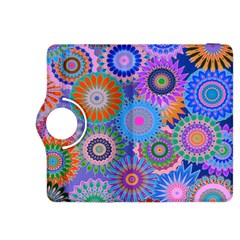 Funky Flowers B Kindle Fire HDX 8.9  Flip 360 Case