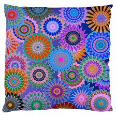 Funky Flowers B Standard Flano Cushion Case (Two Sides)