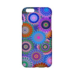 Funky Flowers B Apple iPhone 6/6S Hardshell Case