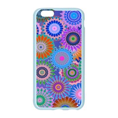 Funky Flowers B Apple Seamless iPhone 6/6S Case (Color)