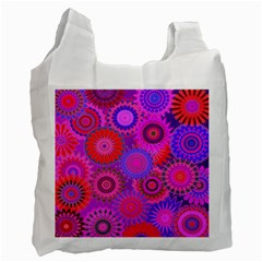 Funky Flowers C Recycle Bag (Two Side)