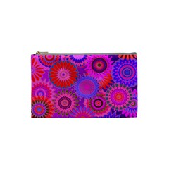 Funky Flowers C Cosmetic Bag (Small)