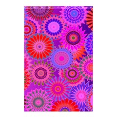 Funky Flowers C Shower Curtain 48  x 72  (Small)
