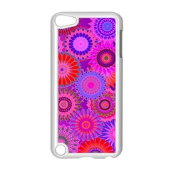 Funky Flowers C Apple iPod Touch 5 Case (White)