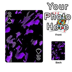 Painter was here - purple Playing Cards 54 Designs
