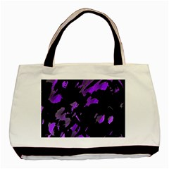 Painter was here - purple Basic Tote Bag