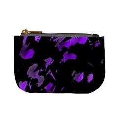 Painter was here - purple Mini Coin Purses
