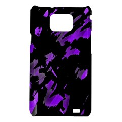 Painter was here - purple Samsung Galaxy S2 i9100 Hardshell Case