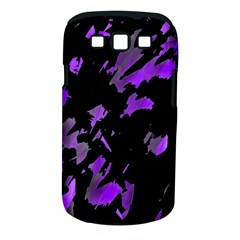 Painter was here - purple Samsung Galaxy S III Classic Hardshell Case (PC+Silicone)