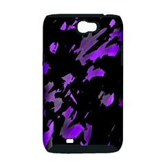 Painter was here - purple Samsung Galaxy Note 2 Hardshell Case (PC+Silicone)