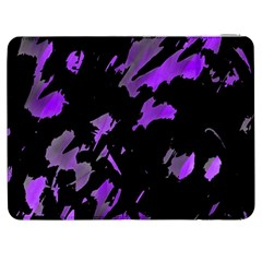 Painter was here - purple Samsung Galaxy Tab 7  P1000 Flip Case