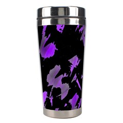 Painter was here - purple Stainless Steel Travel Tumblers