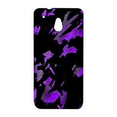 Painter was here - purple HTC One Mini (601e) M4 Hardshell Case