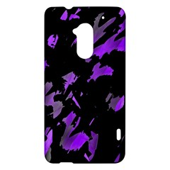 Painter was here - purple HTC One Max (T6) Hardshell Case