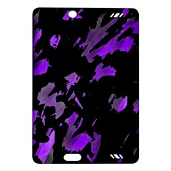 Painter was here - purple Amazon Kindle Fire HD (2013) Hardshell Case