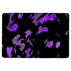 Painter was here - purple iPad Air Flip