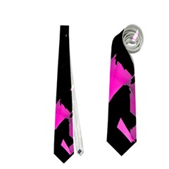 Painter was here - magenta Neckties (Two Side)