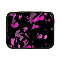 Painter was here - magenta Netbook Case (Small)
