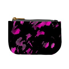 Painter was here - magenta Mini Coin Purses