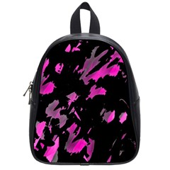 Painter was here - magenta School Bags (Small)