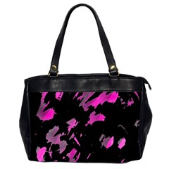 Painter was here - magenta Office Handbags (2 Sides)