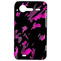 Painter was here - magenta HTC Incredible S Hardshell Case