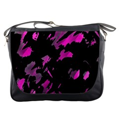 Painter was here - magenta Messenger Bags